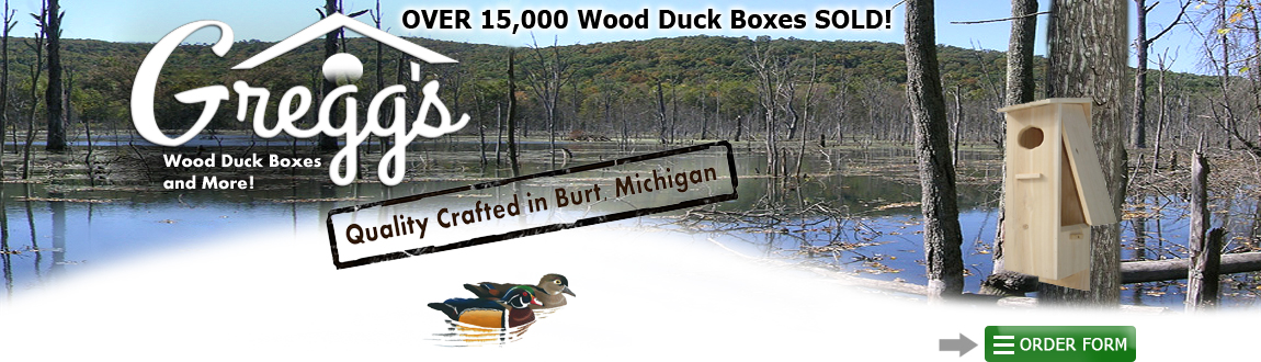 wood duck boxes and more